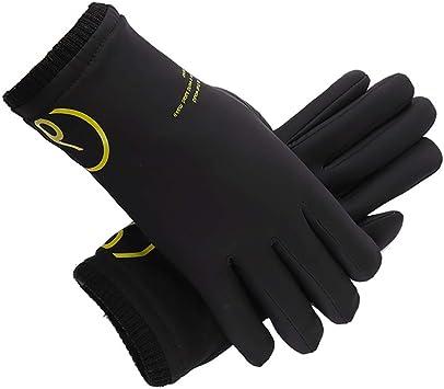 Cyclisme Gants coupe-vent Gel Rembourré écran Tactile compatible Plein doigt Gants