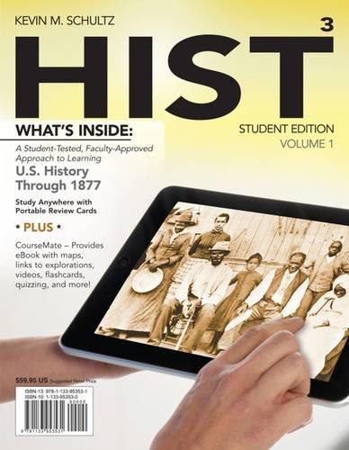Hist   Volume 1 Student Ed. W/Access