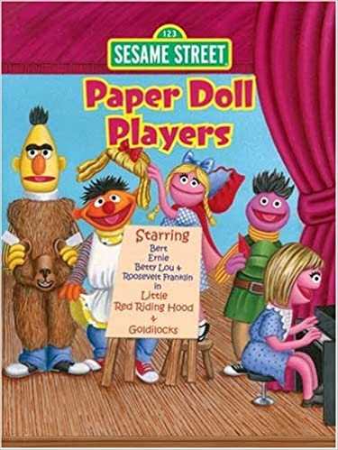 Sesame Street Paper Doll Players