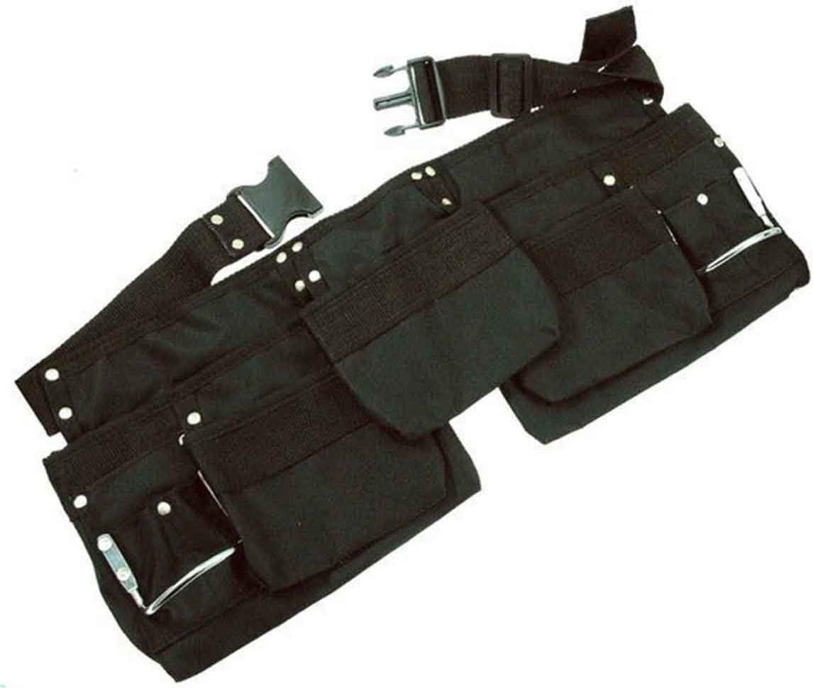 Cinturón Porta Herramientas Profesional de Tela y Hevillas Reforzadas