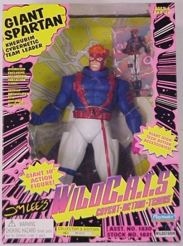 Jim Lee's Wildcats Giant Spartan 12 Inch Action Figure by Wild Cats