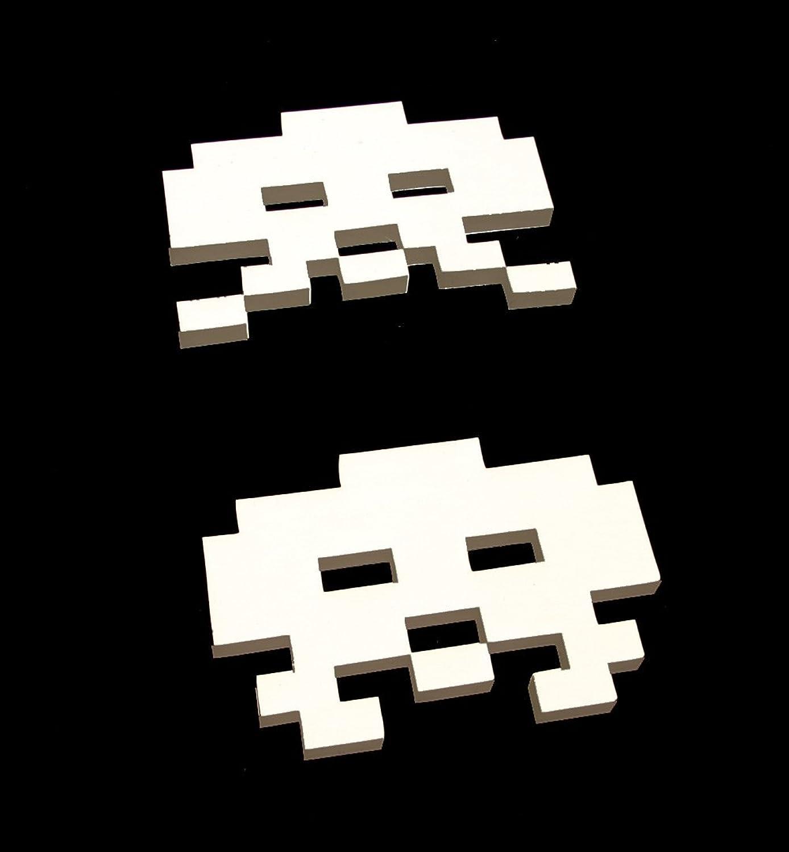 """SPACE INVADERS"" VERSION 1 C64 Designer Pullover Black Wizuals Gr??e M schwarz"