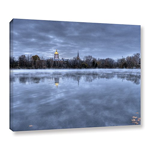 ArtWall 'The Basilica-Notre Dame' Gallery Wrapped Canvas Art by Dan Wilson, 24 by 32-Inch