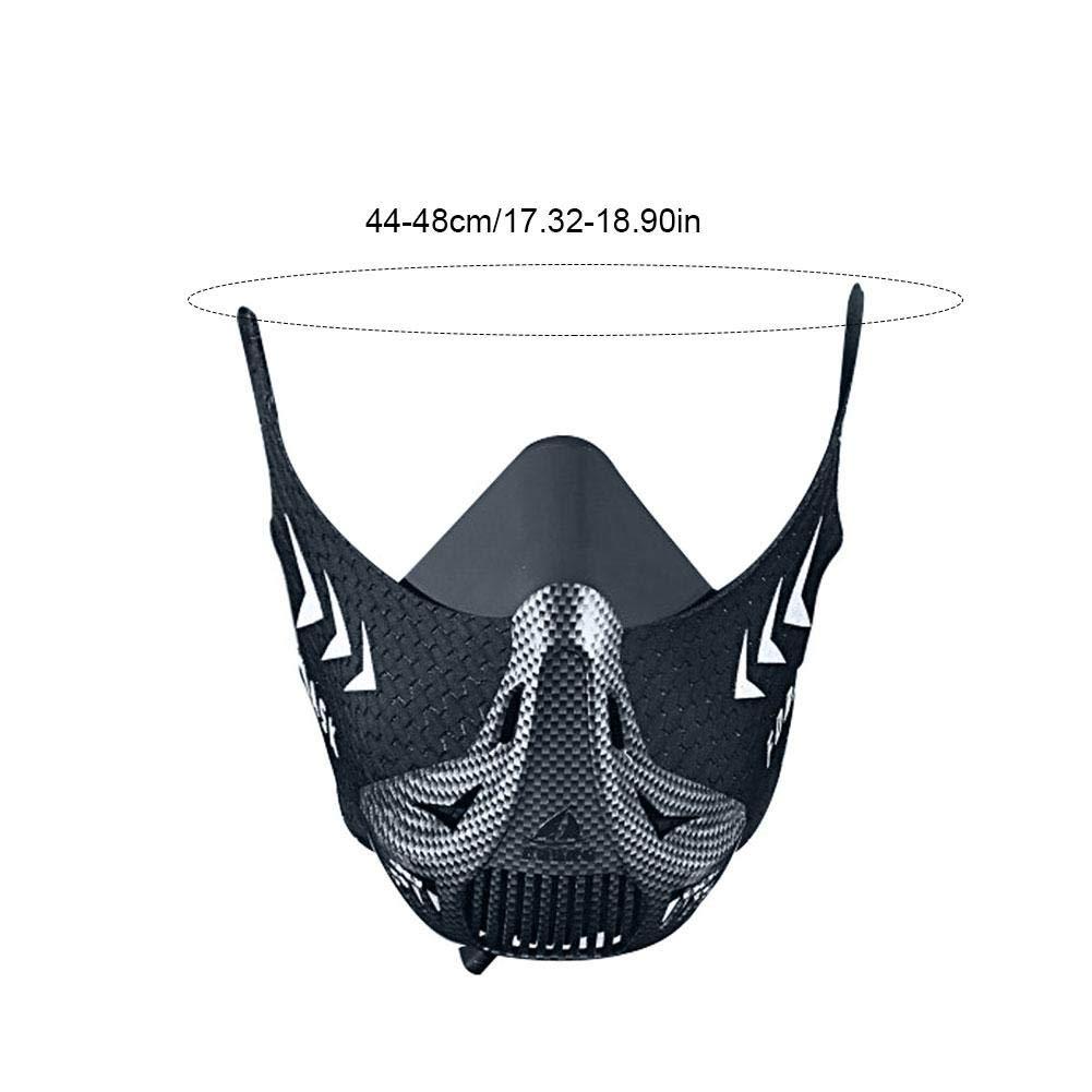Workout Mask Sports Mask Fitness, Running, Résistance, Cardio, Masque d'endurance pour Masque d'entraînement Sportif