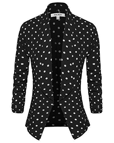 (Instar Mode Women's Polka Dot Print 3/4