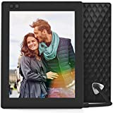 Nixplay Seed 8 Inch WiFi Cloud Digital Photo Frame with IPS Display, iPhone & Android App, Free 10GB Online Storage and Motion Sensor (Black)