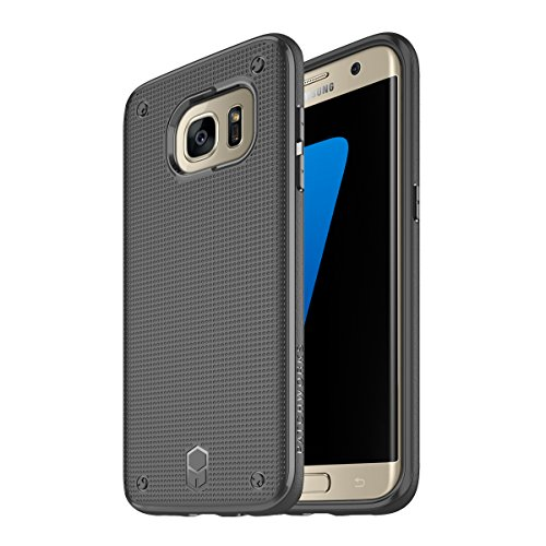 Samsung Galaxy S7 Edge Case, Patchworks Flexguard Case for Samsung Galaxy S7 Edge - Extreme Corner Protection with Poron XRD - Edge Patchwork