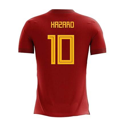 d93024980 Amazon.com   2018-2019 Belgium Airo Concept Home Football Soccer T-Shirt  Jersey (Eden Hazard 10) - Kids   Sports   Outdoors