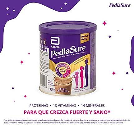 PediaSure - para Niños, Sabor Chocolate, con Proteínas, Vitaminas y Minerales - 400 gr: Amazon.es: Salud y cuidado personal
