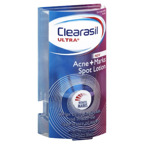clearasil ultra acne marks acne treatment spot lotion 1 ounce best reviews of 2017. Black Bedroom Furniture Sets. Home Design Ideas