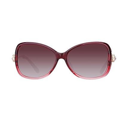 KAI LE Nuevas gafas de sol polarizadas marea femenina Gafas de sol redondas de la cara
