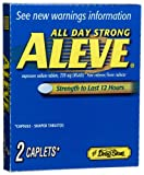 Lil' Drugstore Products Aleve Caplets, 2-Count Boxes (Pack of 12)