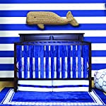 Pure-Safety-Vertical-Crib-Liners-in-Luxurious-Navy-Minky-2-Pack