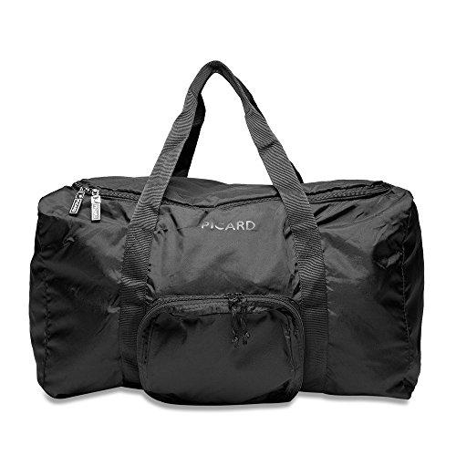 Picard - Bolsa de deporte de material sintético mujer, color negro, talla One Size