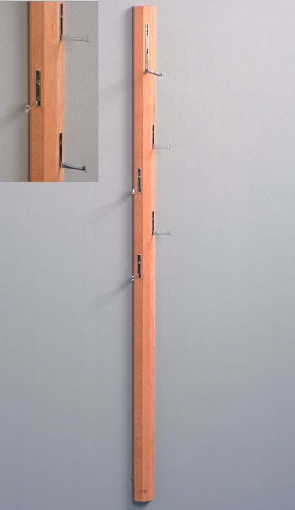 HomeTrends4You 701742 Palo Garderobe, Holz, Sonoma Eiche, 185 x 8 x ...