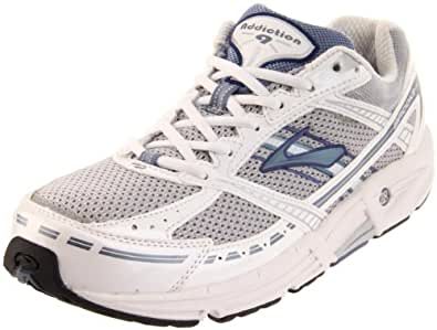 Brooks Women's Addiction 9 Road Running Shoe,Silver/Infinity/PearlWhite/Twilight/Black,6 B
