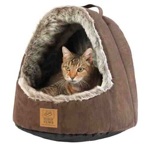House of Paws HP048D Hooded Artic Cat Bed – Special Order Item