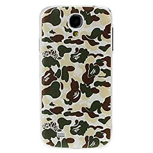 JOE Colorful Camouflage Pattern Plastic Case for Samsung Galaxy S4 I9500 , Red