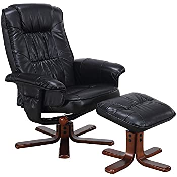 amazon com giantex leisure tv recliner chair lounger armchair