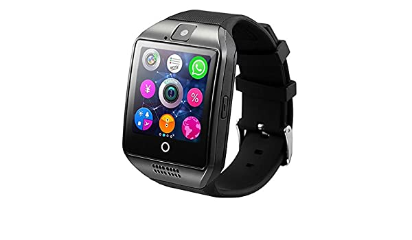 Amazon.com: Bluetooth Smart Watch Men With Touch Screen Big ...