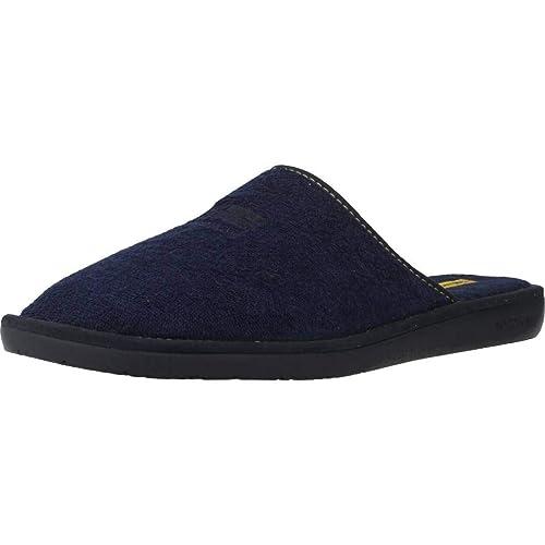 Zapatillas de Estar por casa de Hombre, Color Azul, Marca NORDIKAS, Modelo Zapatillas De Estar por Casa De Hombre NORDIKAS 5506B Azul: Amazon.es: Zapatos y ...