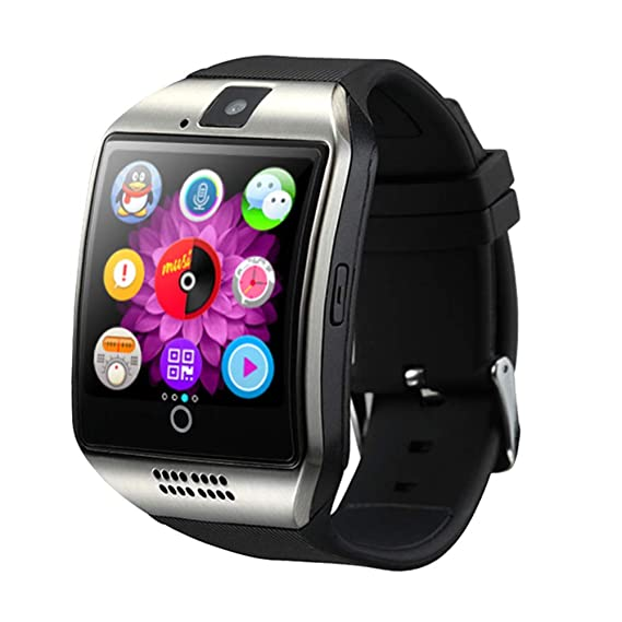 b70bfe08e52 Amazon.com  ATELL Bluetooth Mens Smart Watch with Touch Screen Big ...