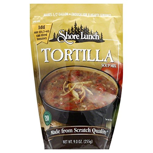 Shore Lunch Tortilla Soup Mix, 9 Ounce (Pack of 6)