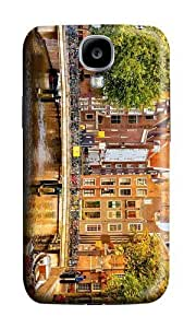 Beautifulcase Samsung Galaxy S4 I9500 case cover,MOKSHOP Cool Buildings in Amsterdam holland netherlands case cover protective case cover cell phone Cover For Samsung Galaxy S4 I9500 R9y3yy26G1H - PC 3D