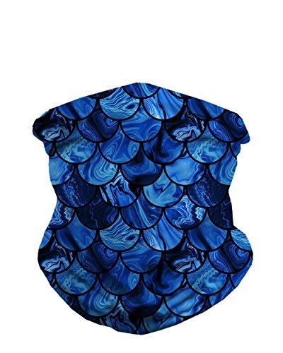iHeartRaves Marble Tides Seamless Mask Bandana