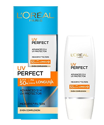 L'Oreal Paris UV perfect Advanced 12H UV Protector, Even Complexion, 30ml
