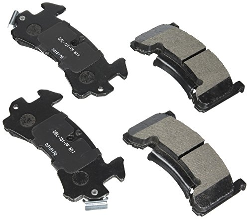 ACDelco 17D154MH Professional Front Disc Brake Pad Set