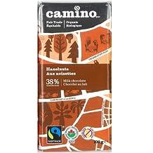 Camino Organic Chocolate Bars - Hazelnuts & Milk Chocolate (12x100g)