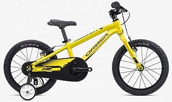 Orbea MX 16 pulgadas MTB niños bicicleta rueda Jockey aluminio Mountain Bike 1 Gang, g00516, color azul, tamaño talla única: Amazon.es: Deportes y aire ...