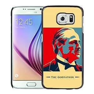 Popular Samsung Galaxy S6 Cover Case ,The Godfather Artwork Black Samsung Galaxy S6 Case Hot Sale And Unique Designed Phone Case