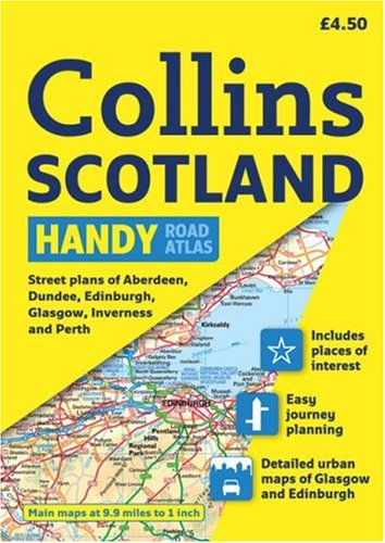 Collins Scotland Handy Road Atlas (International Road Atlases) by HarperCollins UK