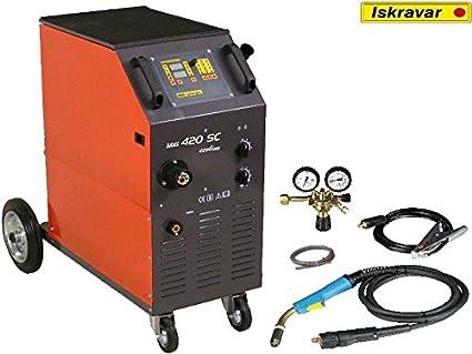 MIG MAG ISKRA 420 SC eco de soldadura dispositivo de soldadura dispositivo ISKRAVAR