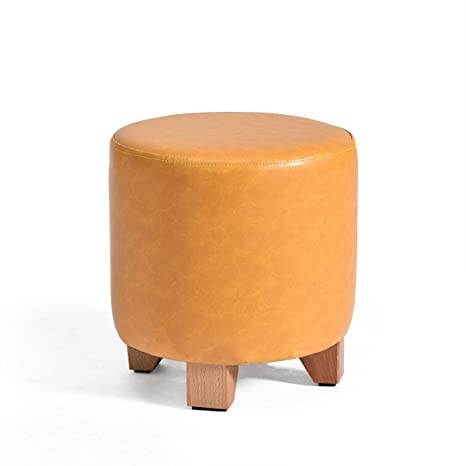 Fine Amazon Com Grjxmd Round Ottoman Makeup Stool 4 Legs Non Creativecarmelina Interior Chair Design Creativecarmelinacom