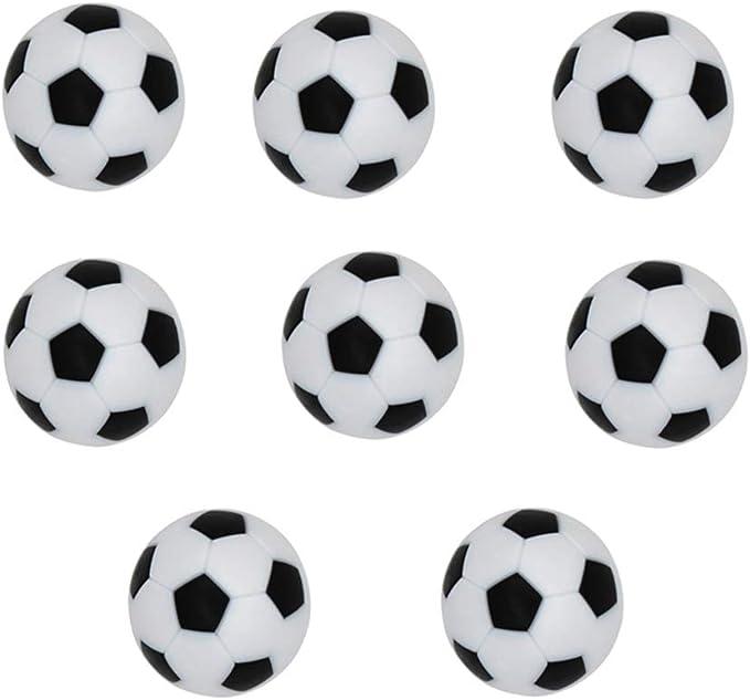 YeahiBaby 8 unids futbolín futbolín Bolas de reemplazo Mini Juego de Mesa Oficial Accesorio de la Bola 32 mm: Amazon.es: Juguetes y juegos