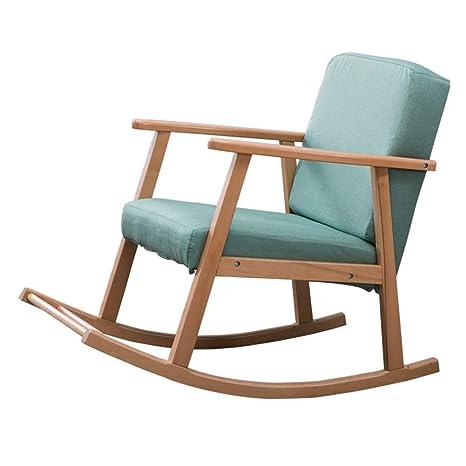 Q.AWOU Mecedora Garden Relax Furniture Sillón de Interior ...