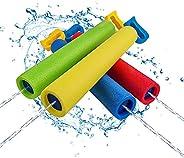 Kyerivs - Pistola de agua a chorro, pistola de espuma para diversión al aire libre, diversión de verano, alber