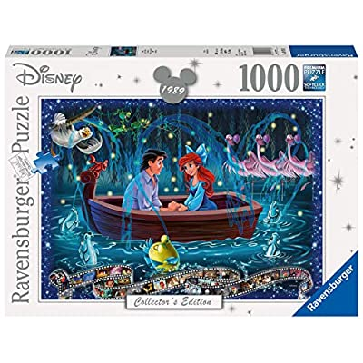 Ravensburger Disney Collector's Edition Little Mermaid 1000pc Jigsaw Puzzle: Toys & Games