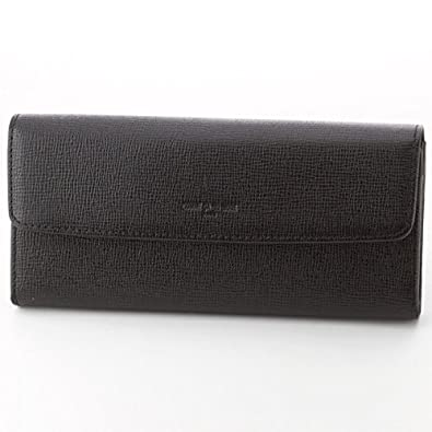 4f388483d22f Amazon   コムサ デ モード・サック(COMME CA DU MODE SACS) 財布(プレーン長財布)【ブラック10/F(フリー)】    レディースバッグ・財布