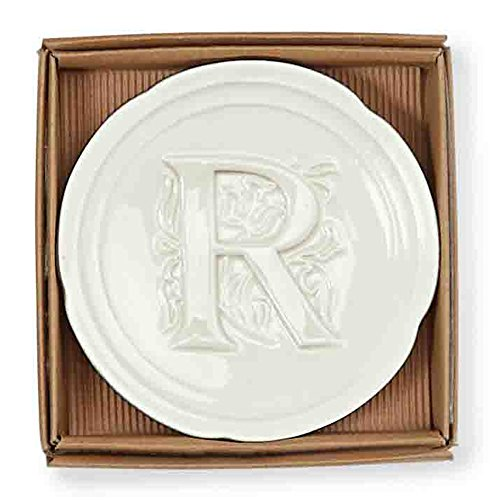 Mud Pie Initial Accessory Dish R