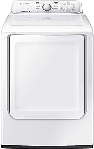 Samsung DV40J3000EW 7.2 Cu. Ft. White Electric Dryer