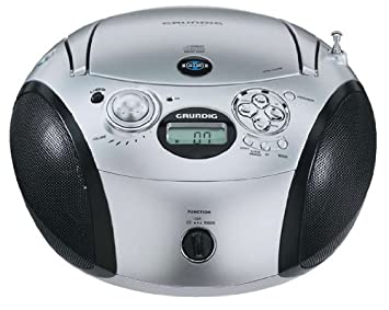 Grundig MP3 CD Radio RCD 1420 - CD players Ultra Bass: Amazon co uk