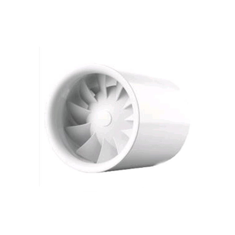 Inline Ventilator Silent Quietline 100 / 125 / 150 mm Grow Lüfter - sehr leise (100mm Durchmesser mit 100 m³/h bei 26 dBA) Vents