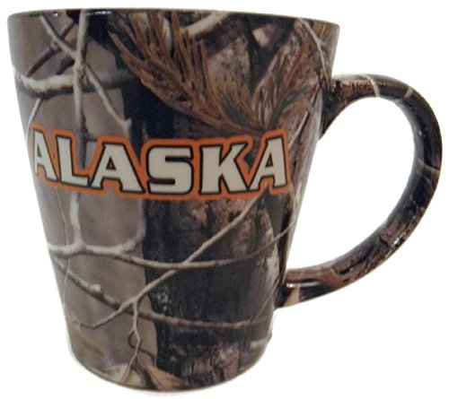 Alaskan Real Tree Camo Design 11 Oz. Coffee Mug