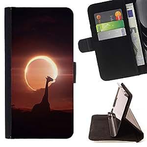 BullDog Case - FOR/HTC Desire 820 / - / Space Planet Galaxy Stars 52 /- Monedero de cuero de la PU Llevar cubierta de la caja con el ID Credit Card Slots Flip funda de cuer