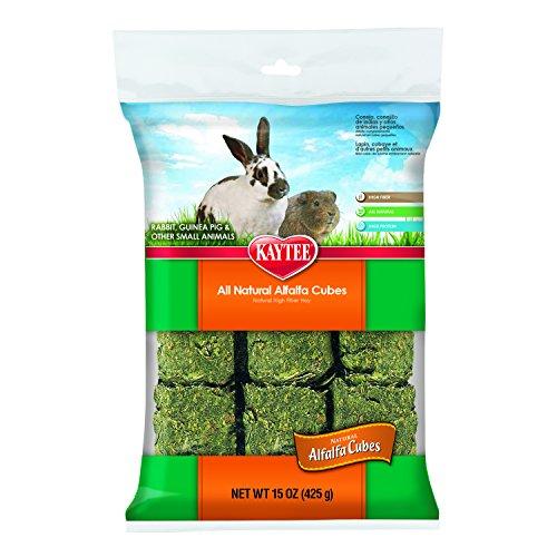 Cubes Sun Alfalfa Seed - Kaytee Alfalfa Cubes, 15-oz bag
