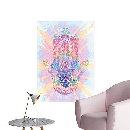 Amazon Com Hamsa Self Adhesive Wallpaper For Home Bedroom Decor